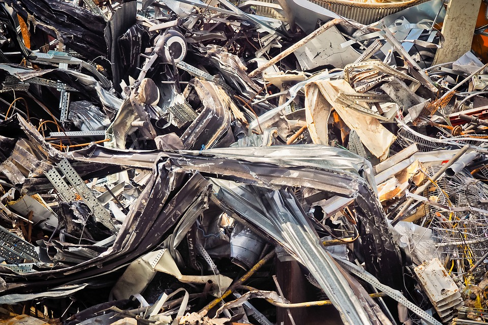 Metal, Recycling, Waste, Scrap, Old, Junkyard
