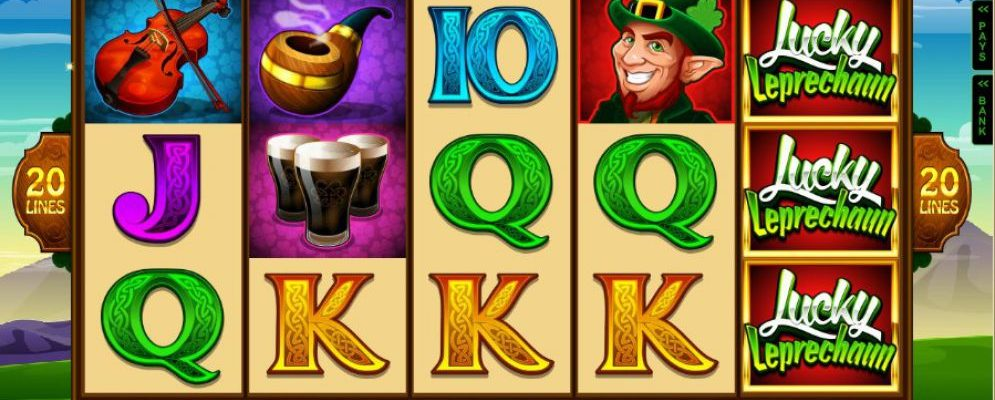Gameplay review of Lucky Leprechaun Slot